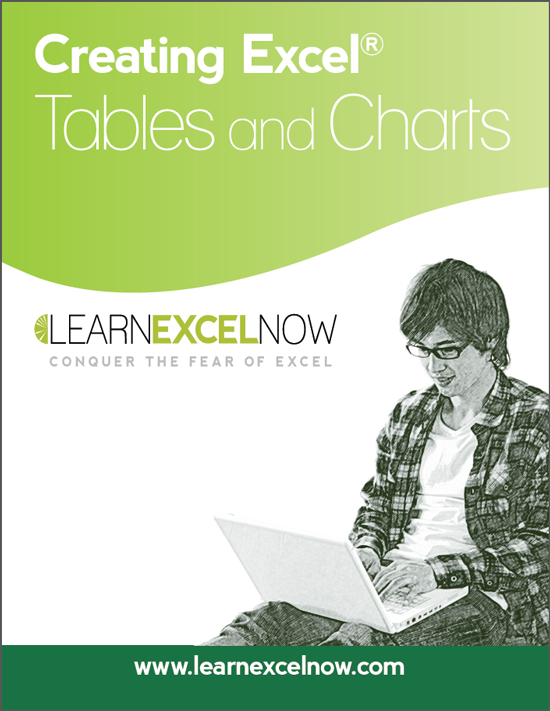 Creating Excel Tables and Charts